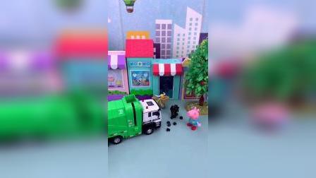 小猪佩奇的垃圾车