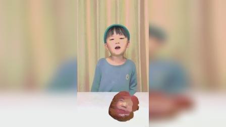 趣味童年:今天我变成一个黑色的面包