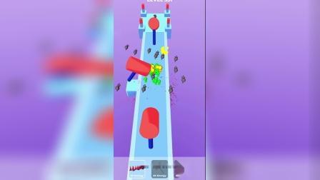 趣味小游戏:打飞小绿人