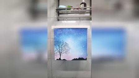 你见过这样的壁画置物架吗?