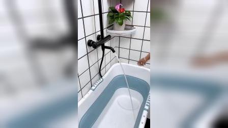 这个泡澡桶太好用了