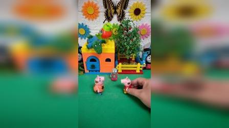 小猪佩奇遇到僵尸