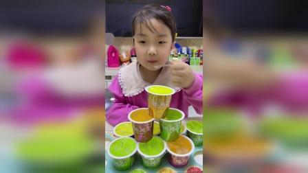 亲子游戏:好多的果冻,你想吃吗