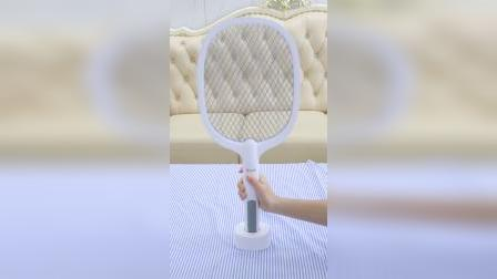 有了这个电蚊拍,再也不用担心蚊虫困扰了