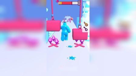 这个果冻人是怎么了