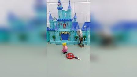 小猪佩奇和乔治的城堡