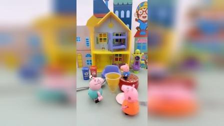 小猪佩奇亲子游戏故事