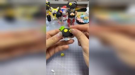 手工粘土:喜欢这款囡茜吗?