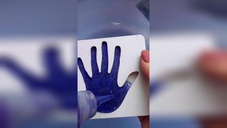 手掌水精灵制作