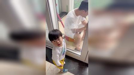 童年趣事:这孩子的智商真的高,看到最后你就懂!