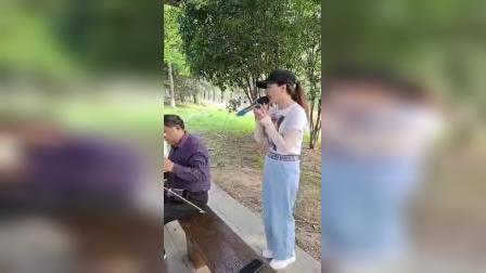 黄梅戏《喊一声蔡郎哥你且慢行走》演唱:王梅、伴奏:李祥、2021、5、28