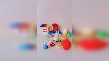 儿童益智玩具:妈妈已经准备了很多美味的食物哦