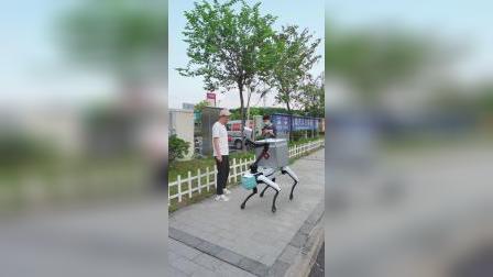 波士顿机器人防控疫情小助手
