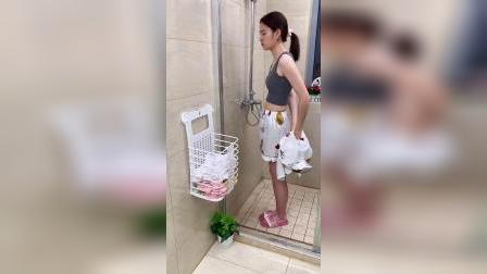 浴室换洗衣物没地方放,有了它再也不用愁了