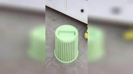 自带垃圾袋的垃圾桶,干净又卫生