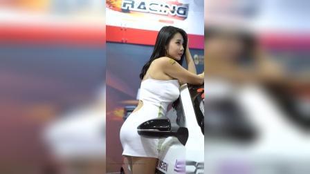【2019汽车沙龙1005】美女模特车模姜河斌