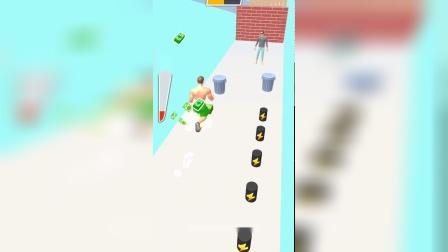 小游戏:他能打倒几扇墙