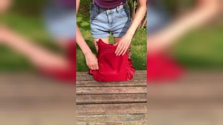 出门背这个防盗背包,再也不怕被小偷惦记了