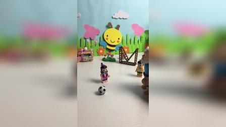 两个葫芦娃在比赛什么?