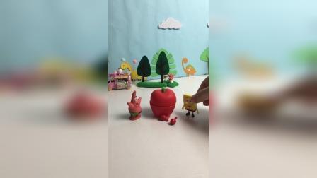 海绵宝宝可以空腹吃两个苹果吗?