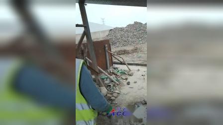 滚筒洗石设备清洗化工染石现场
