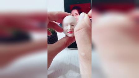 手工泥塑:刘敏涛