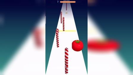 小游戏:西红柿怎么缺了一角啊