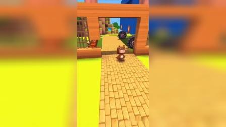 迷你世界:熊二想吃蜂蜜