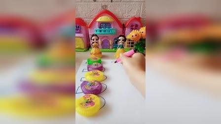 趣味童年:用神奇的笔画糖吧
