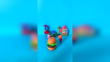 这是我新做的汉堡哟