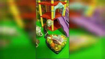 儿童玩具:偷吃糖果的僵尸