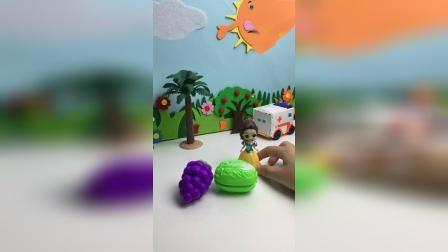 这两个水果想干嘛?
