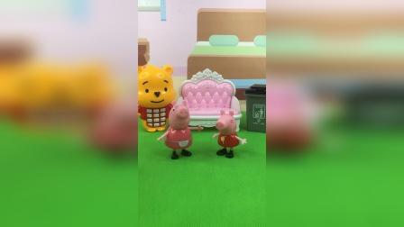 少儿玩具:佩奇说话一套一套的