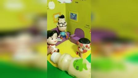儿童玩具:老师真的欺负大头儿子了吗