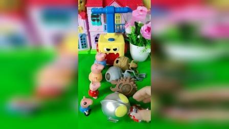 儿童玩具:小猪佩奇一家的玩具,你喜欢哪个