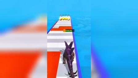 小游戏:恐龙来喽,冲啊