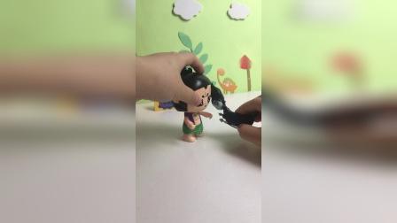 巫婆对葫芦娃做了什么?