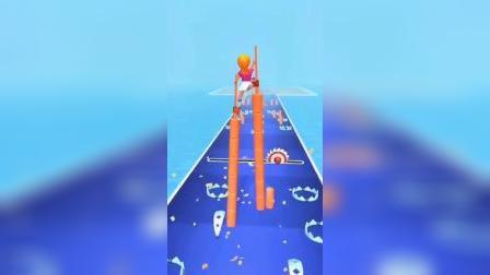 小游戏:美女踩高跷太厉害了