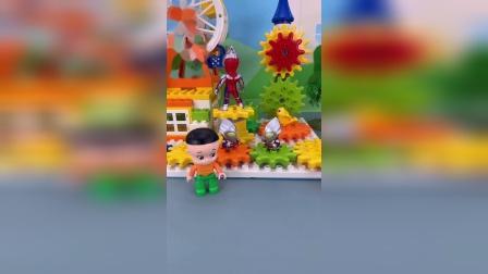 小朋友们精彩玩具小故事开始喽