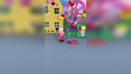 小猪佩奇和葫芦娃的玩具小故事