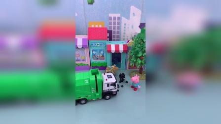 小猪佩奇玩具小故事开始喽