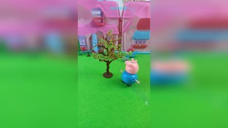 猪爸爸要种一棵大树