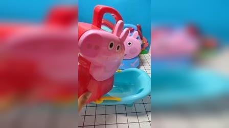 小猪佩琪的玩具太好玩了