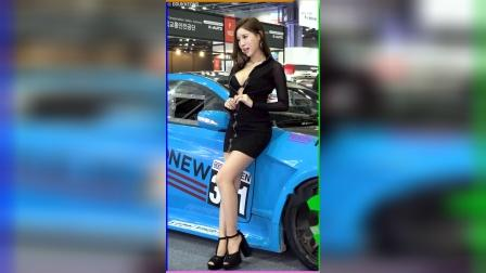 【2019汽车沙龙1005】美女模特车模延初雅