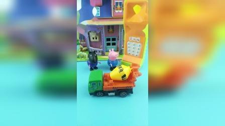 少儿亲子玩具:乔治用电话帮助了很多小朋友