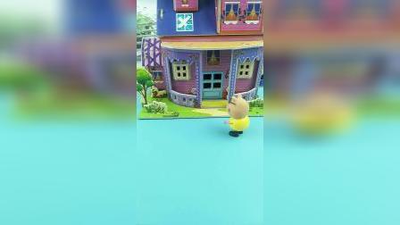 少儿亲子玩具:佩德罗帮助乔治赶走了僵尸