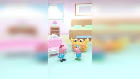 智趣玩具故事:乔治叫佩奇吃饭