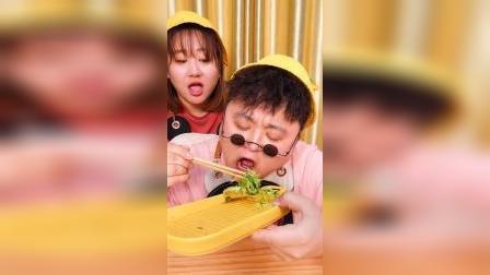 """吃货邱小胖,挑战1天只吃""""苦""""的食物!"""