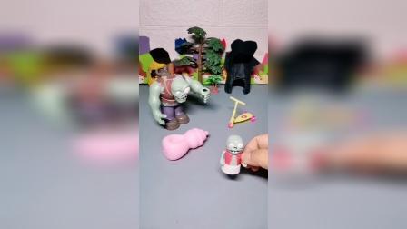 少儿亲子玩具:爱吹牛的巨人僵尸