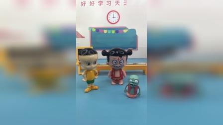 少儿亲子玩具:乔治愿意和小鬼成为朋友